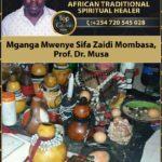 Mganga Mwenye Sifa Zaidi Mombasa, Prof. Dr. Musa