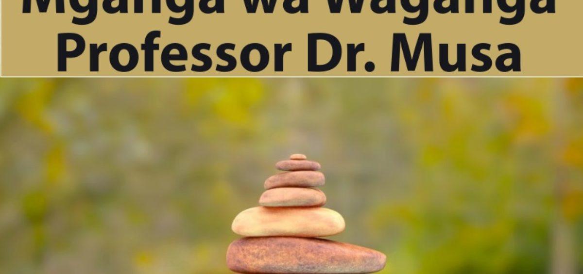 Mganga wa Waganga Professor Dr. Musa