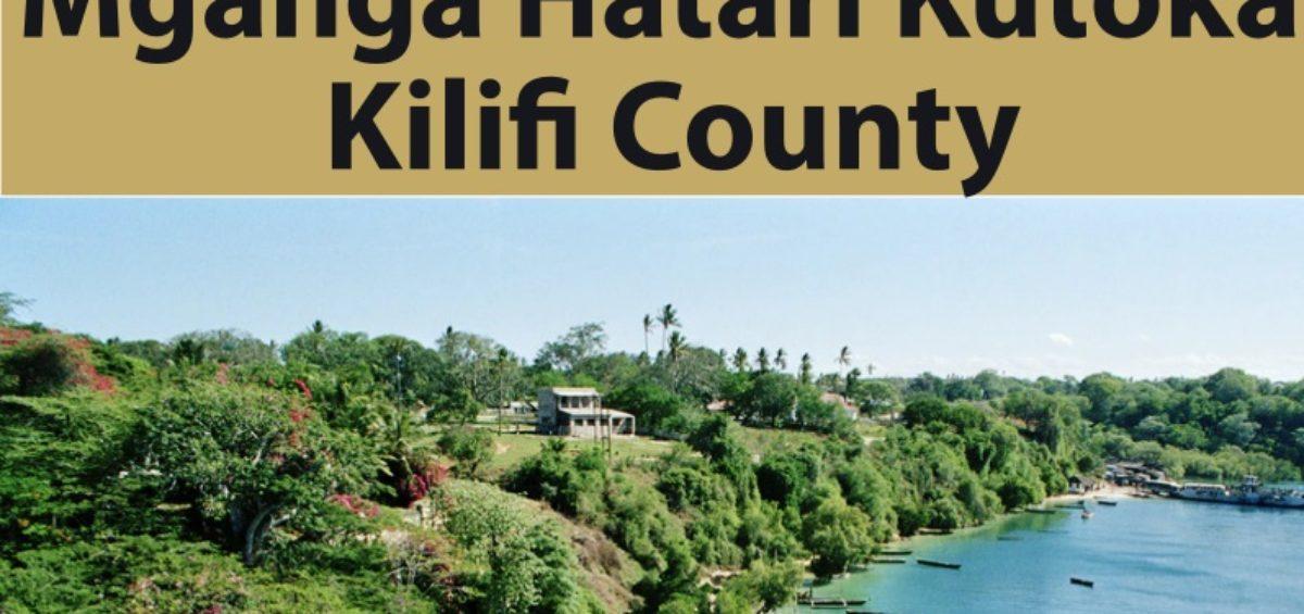 Mganga Hatari Kutoka Kilifi County