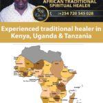 Experienced traditional healer in Kenya, Uganda & Tanzania