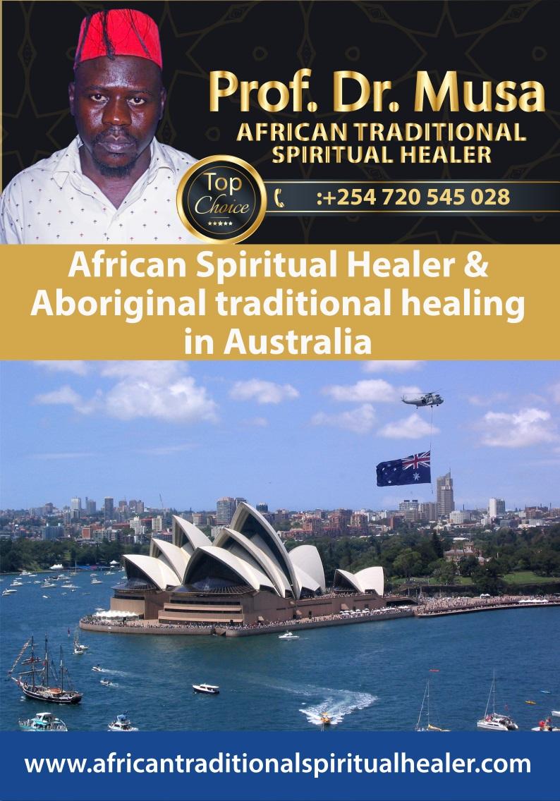 African Spiritual Healer and Aboriginal traditional healer in Australia