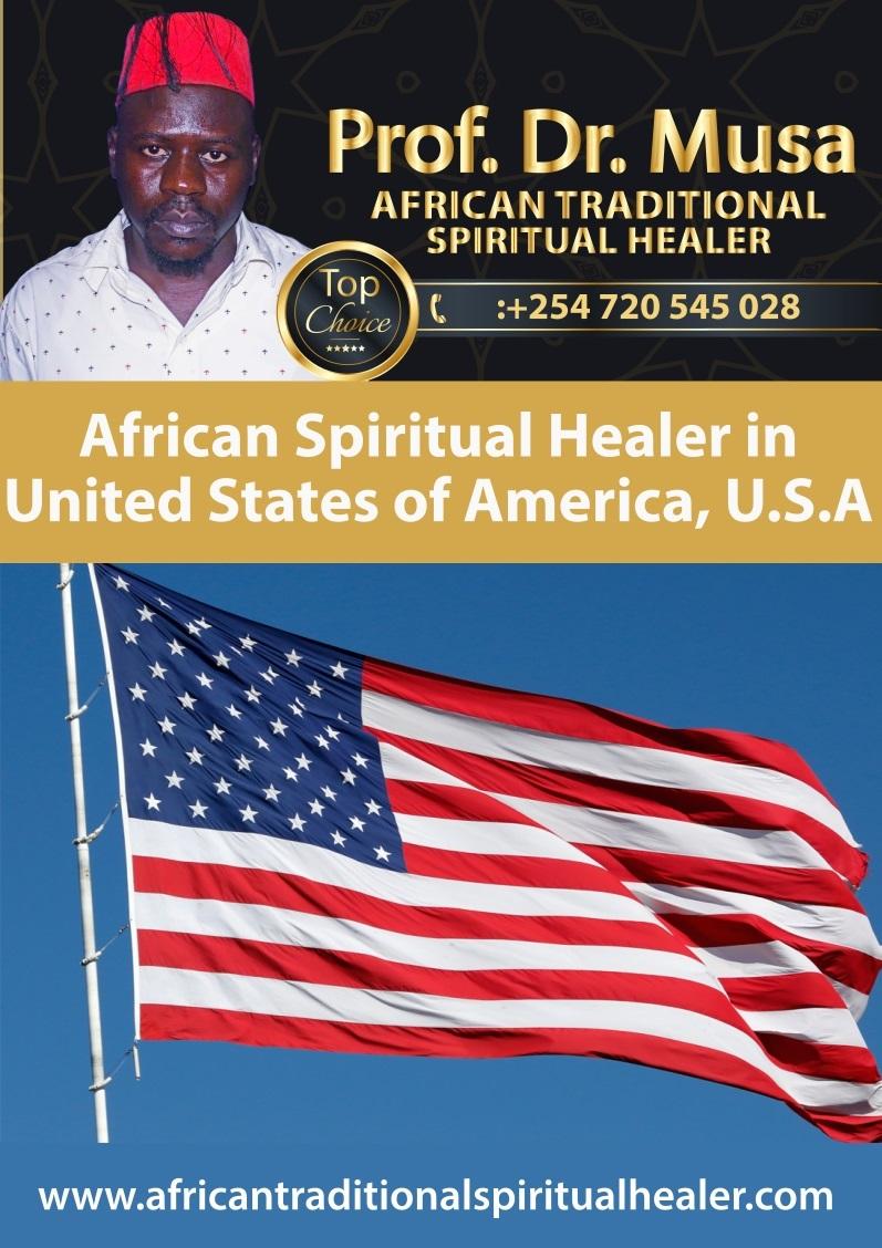 African Spiritual Healer in United States of America, USA